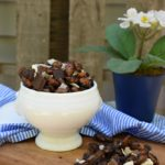 Coffee Roasted Almonds and Chocolate Coconut Snack Mix