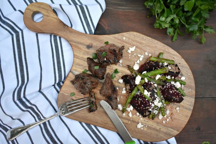 Tender Marinated Steak Tips from Your Freezer