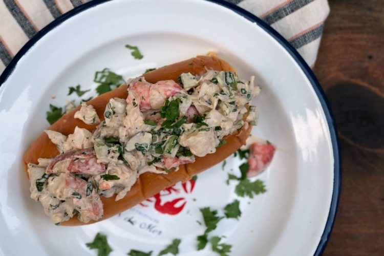 Grilled Sriracha Lobster Rolls