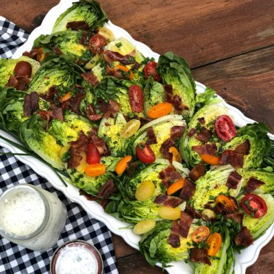 Potluck BLT Salad and Buttermilk Ranch Platter