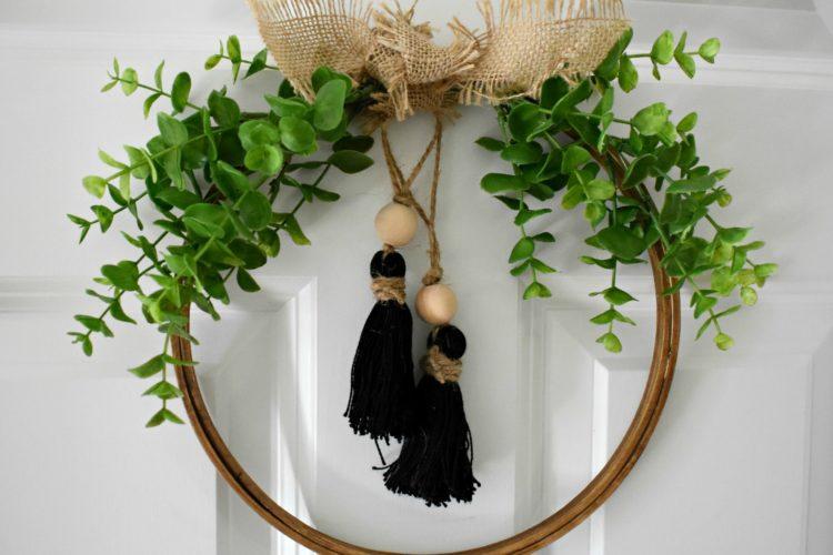 DIY: Fall Tassel Hoop Wreath