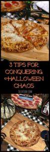 3 Tips for Conquering Halloween Chaos #NeverFlySolo @RedBaronPizza #easypizzadinner #halloweendinners #RedBaronPizza