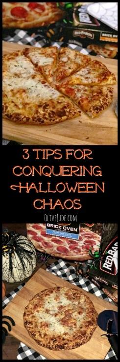 3 Tips for Conquering Halloween Chaos #NeverFlySolo #ad @RedBaronPizza #easypizzadinner #halloweendinners #RedBaronPizza