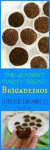 The Easiest Party Treat: Brigadeiros #brigadeiros #fudgeballs #braziliandessert #easydessert