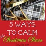 5 Ways to Calm the Christmas Chaos #NeverFlySolo #ad #RedBaronPizza #christmaschoas