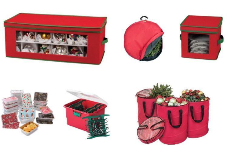 The Ultimate List of Christmas Storage Solutions #christmasorganization #christmasstorage #storageideas #holidaystorage