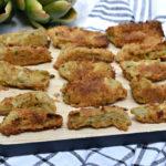Easy Baked Parmesan Artichoke Bites